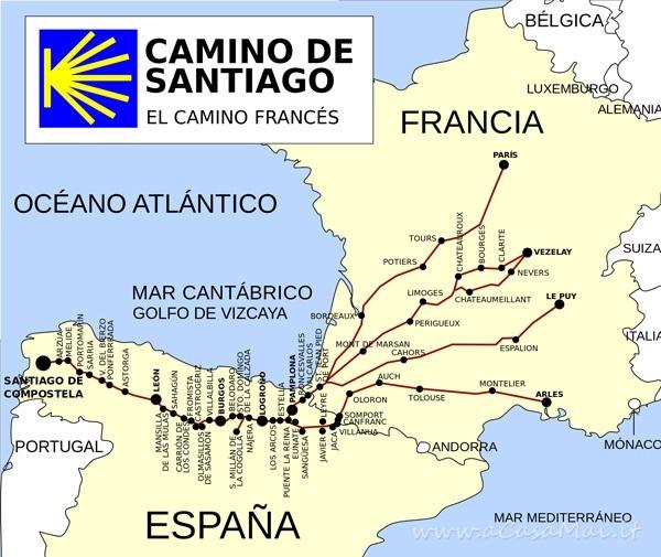 Cammino francese di Santiago