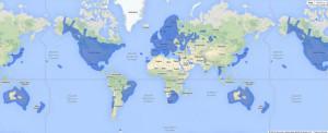 Mappa dei Paesi con… Google Street View