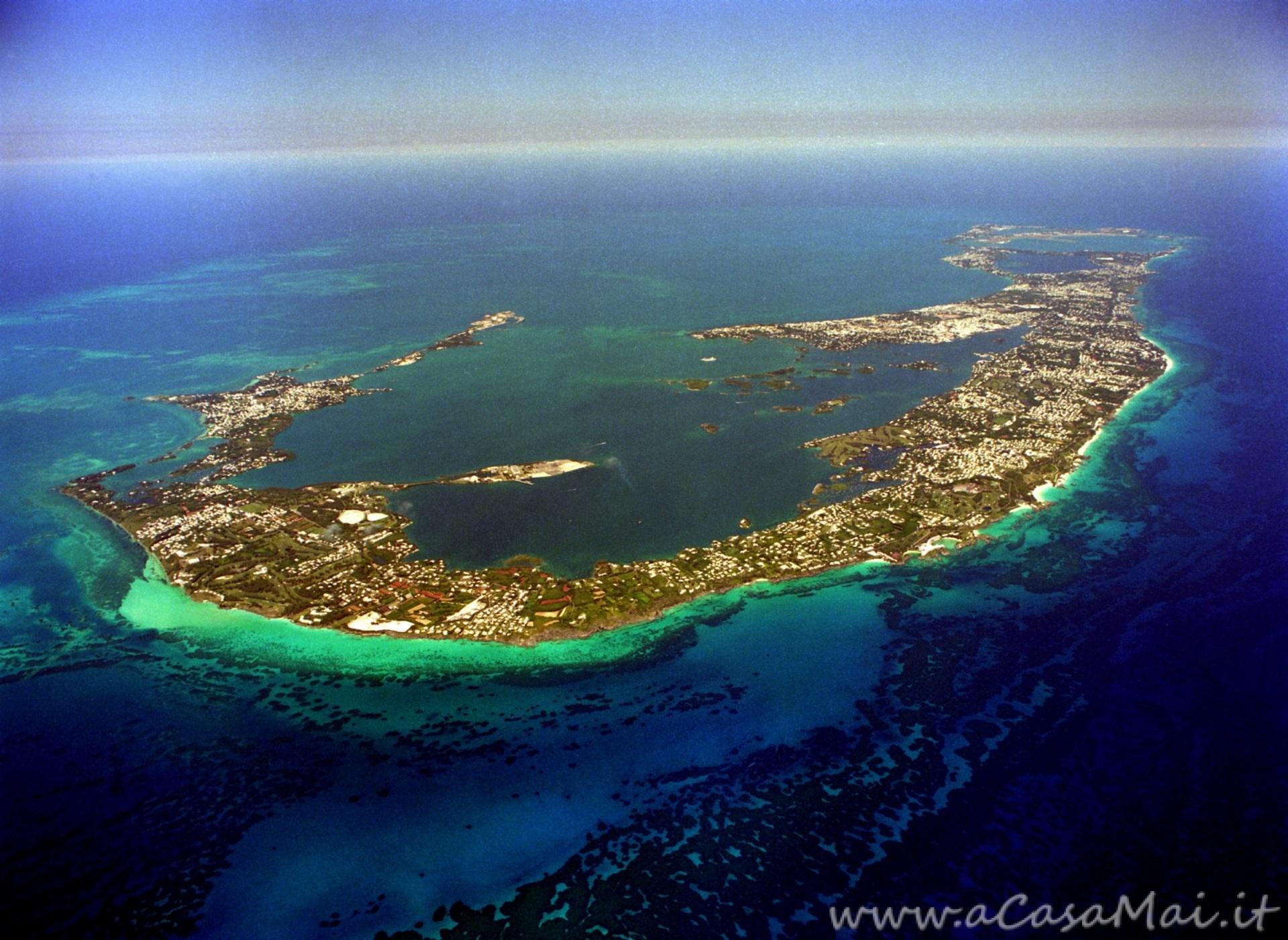 Bermuda dall'alto