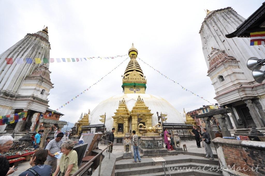 Nepal: la Swayambhunath Stupa di Kathmandu