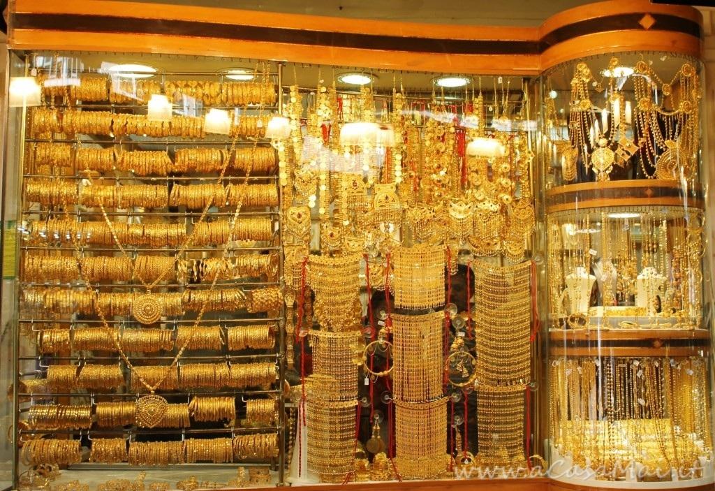 Il Souk-quartiere dell'oro a Dubai