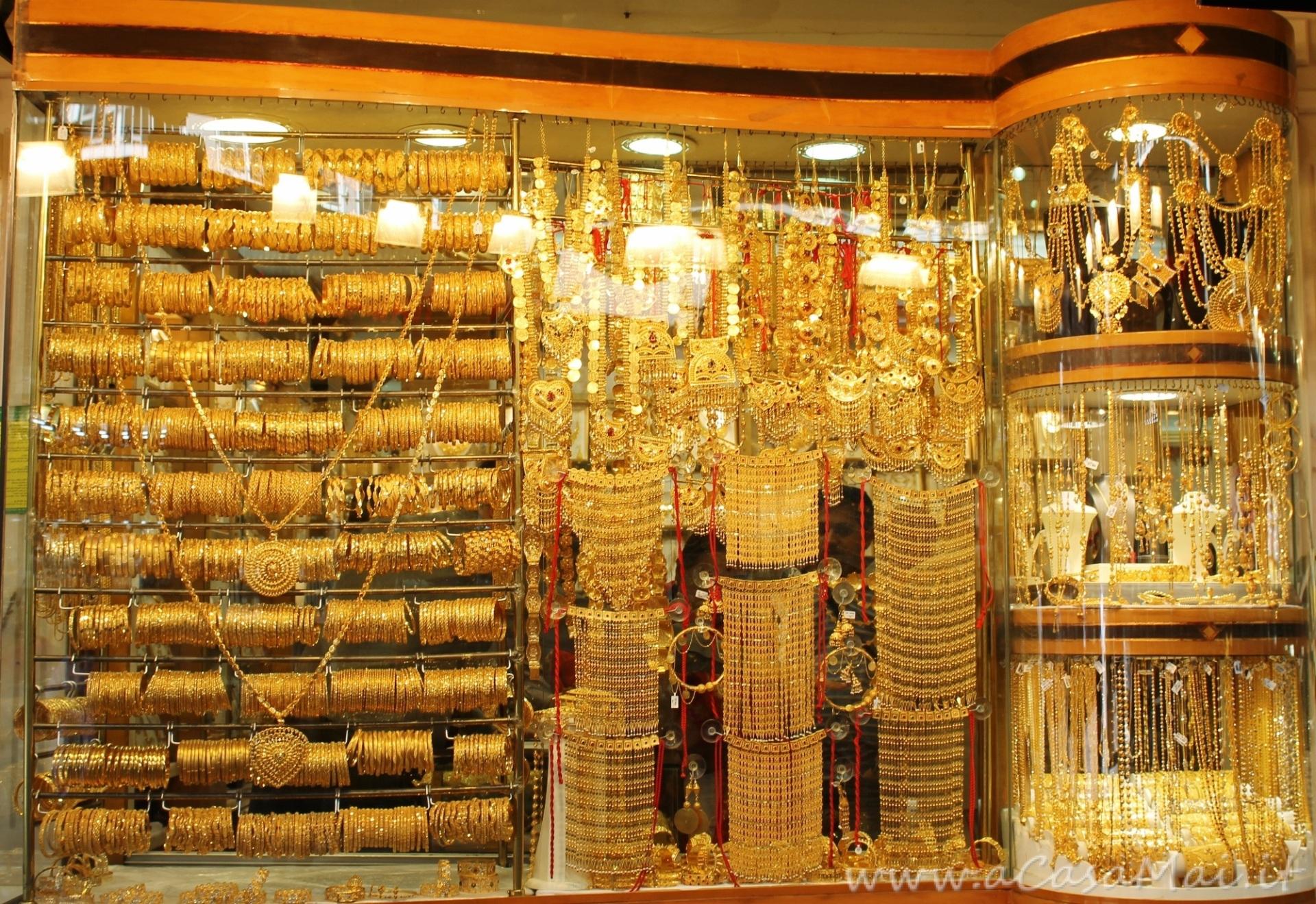 vetrina al Gold Souk