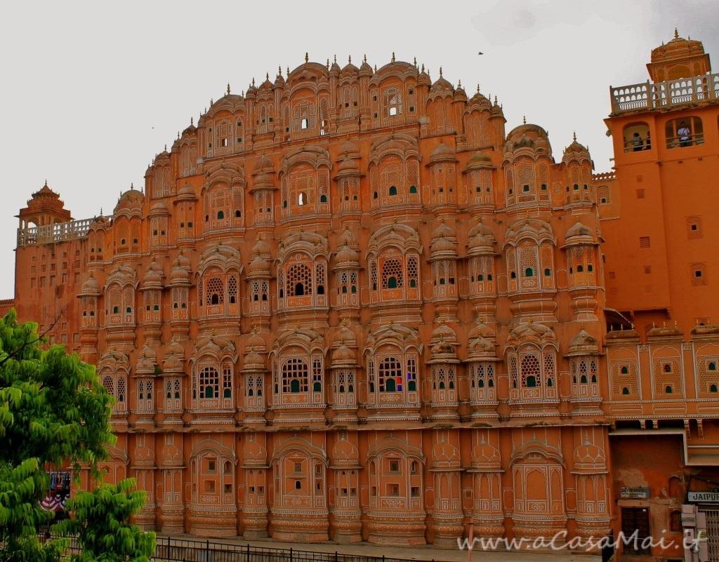 Hawa Mahal, palazzo rosa di Jaipur (India)