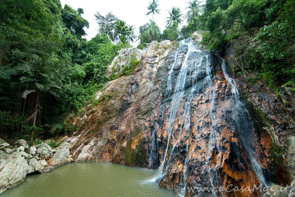 Na Muang, le cascate di Ko Samui in Thailandia