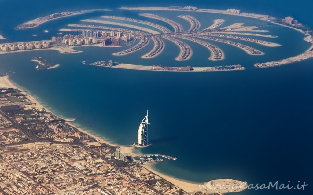 Palm Jumeirah, insieme di isole artificiali a Dubai