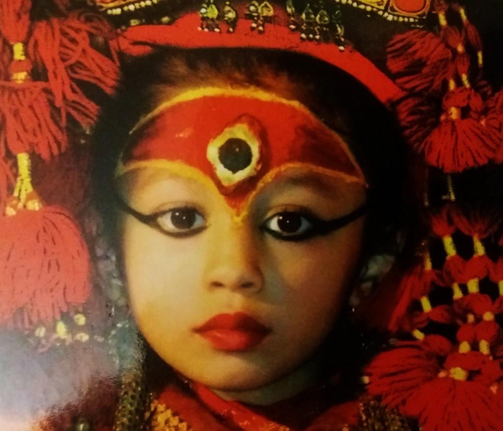 La Kumari Reale, Dea Bambina in Nepal