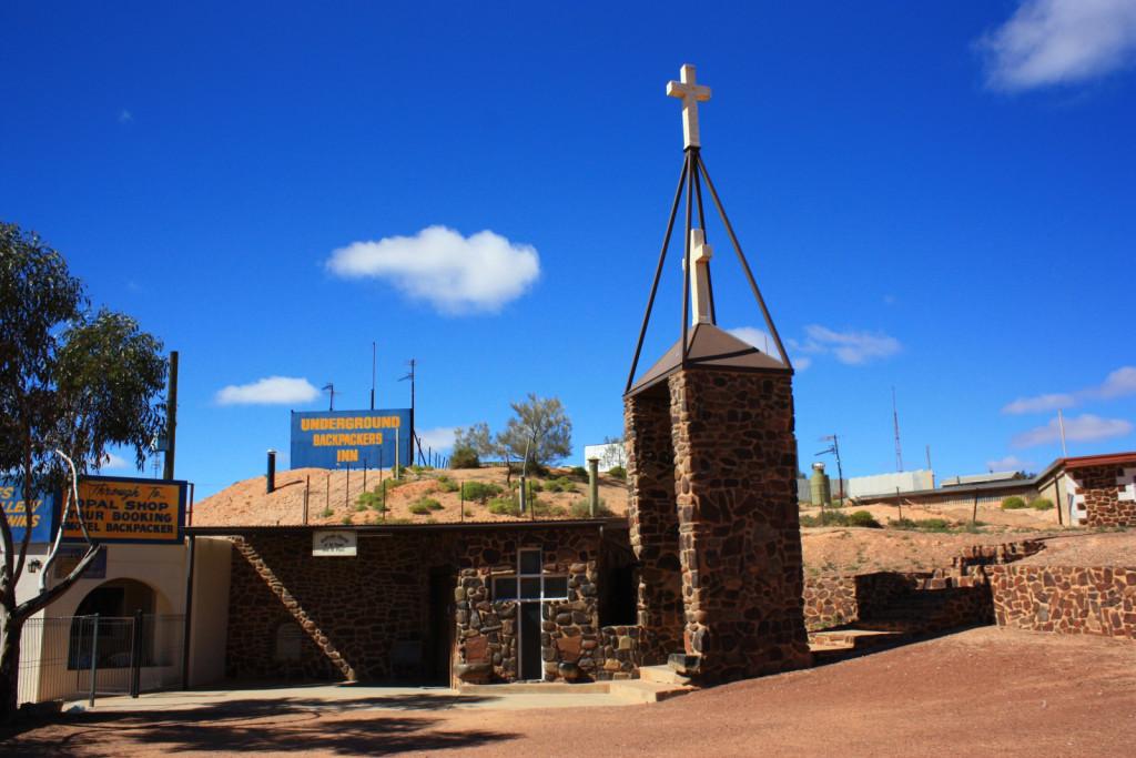 Coober Pedy, città sotterranea nel deserto australiano