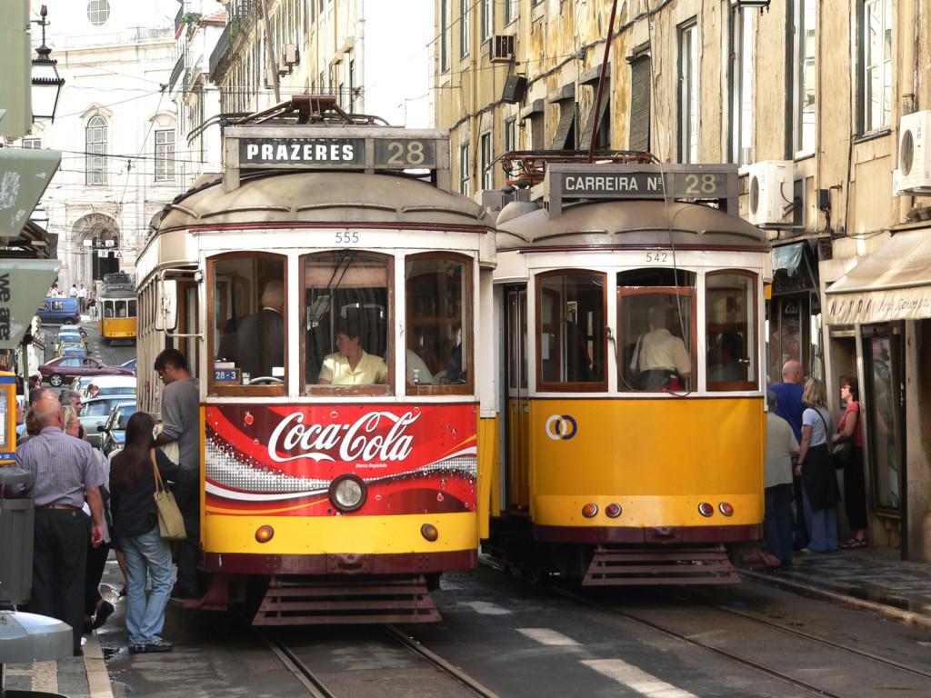 Tutti i panorami del tram 28 a Lisbona