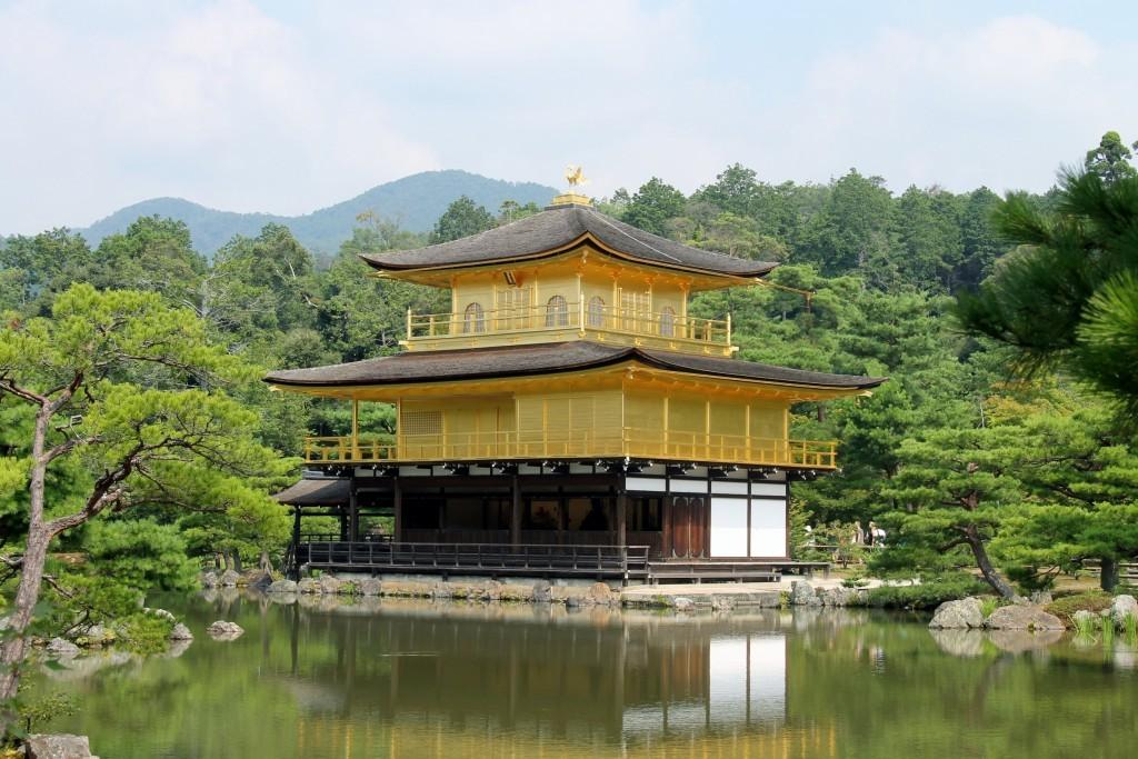 Lo scintillante Padiglione d'Oro di Kyoto