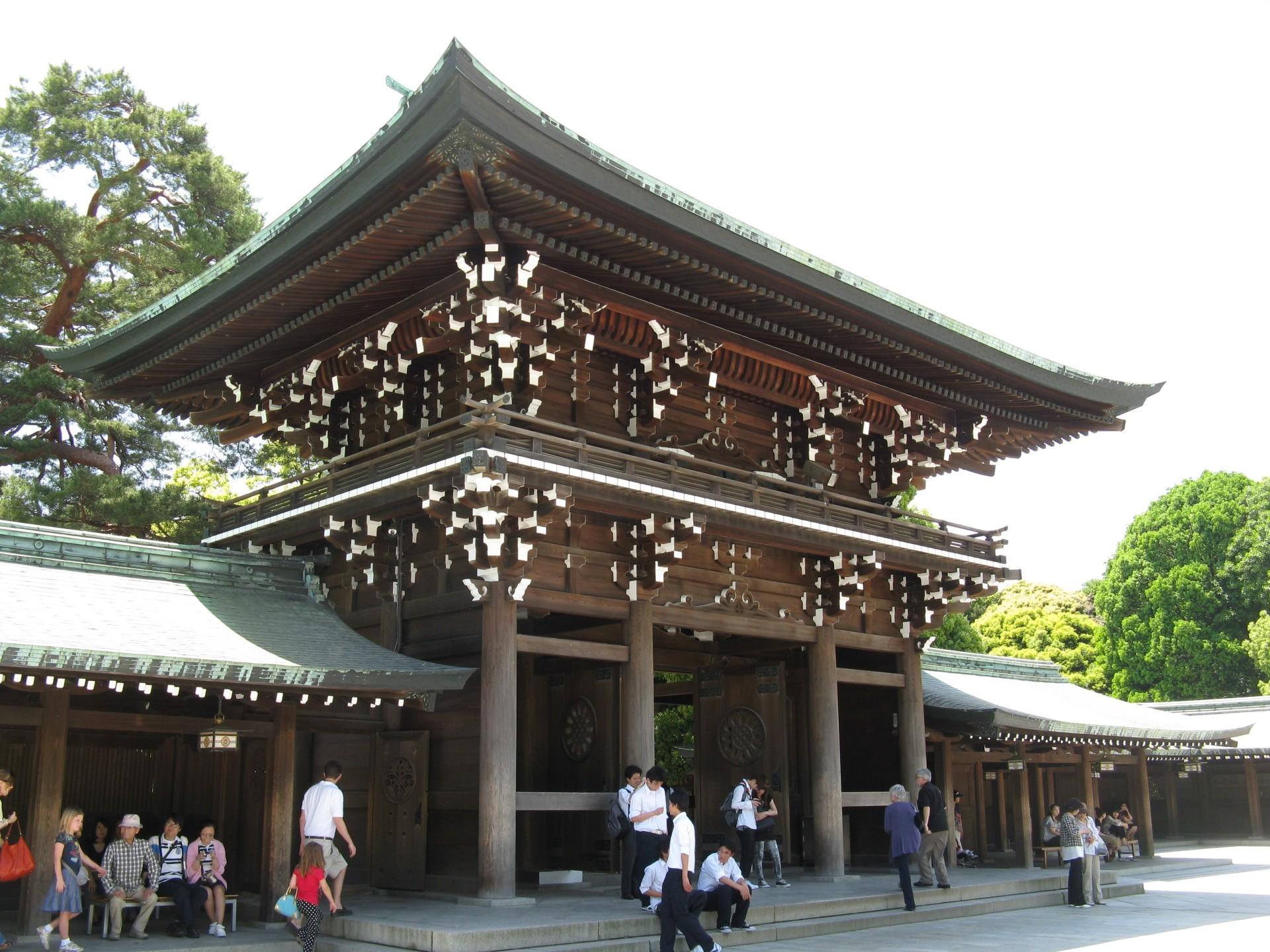 Dentro al Meiji Jingu, Tokyo