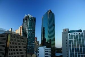 Brisbane, vista dall'appartamento