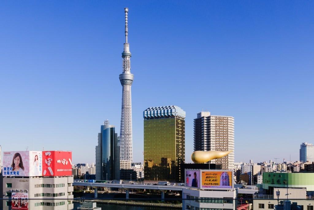 Da vertigini alla Tokyo Sky Tree!