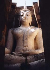 Big Buddha al Wat Si Chum, Sukhotai, Thailandia
