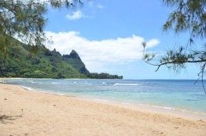 Tunnel beach (Kauai Hawaii)