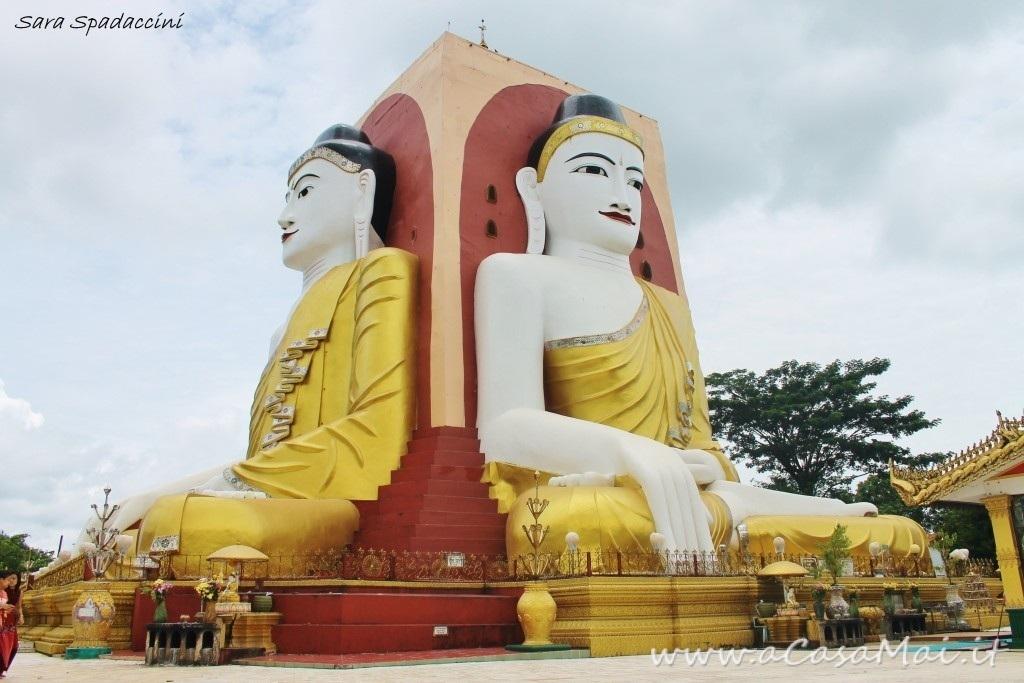 Terzo giorno in Myanmar: pericolosa discesa, di nuovo a Bago e ritorno a Yangon