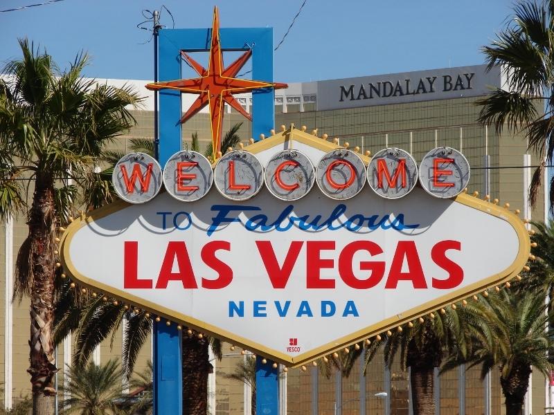 cartellone di Las Vegas