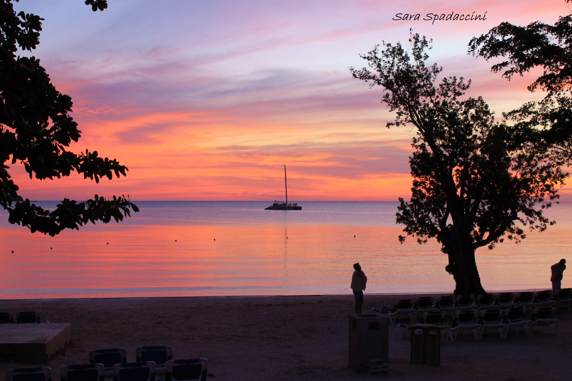 Stupendo tramonto, Jamaica 2012
