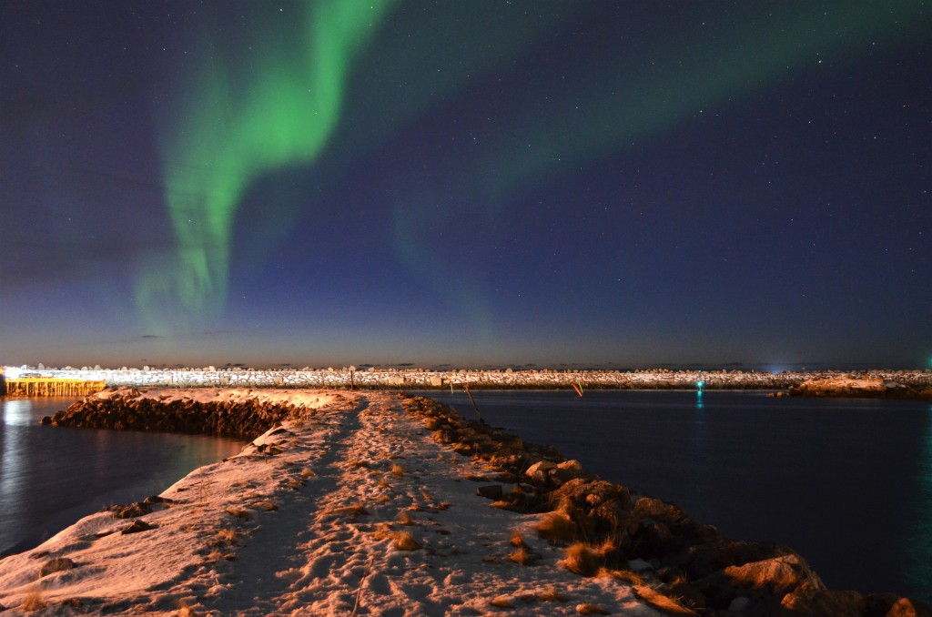 Aurora Boreale mozzafiato in Norvegia - © Fabio Santacaterina (@bohemien86 su instagram)