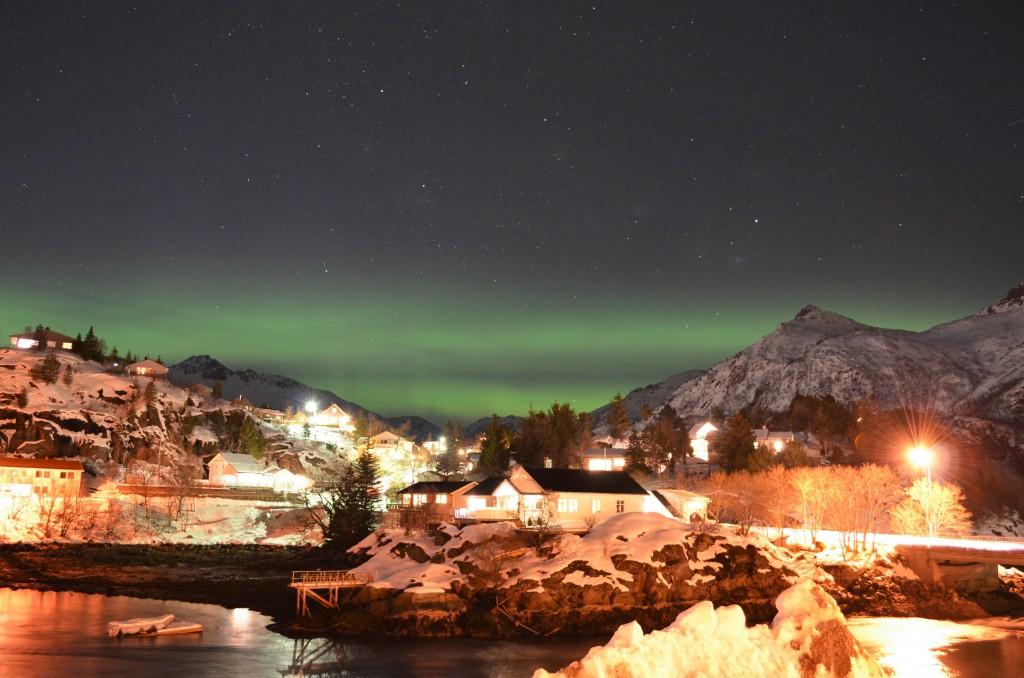 l'Aurora boreale della Norvegia - © Fabio Santacaterina (@bohemien86 su instagram)