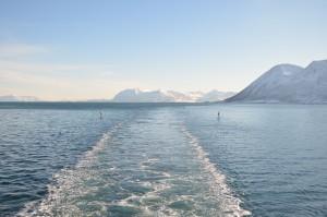 Vista dal battello Hurtigruten in Norvegia - © Fabio Santacaterina (@bohemien86 su instagram)