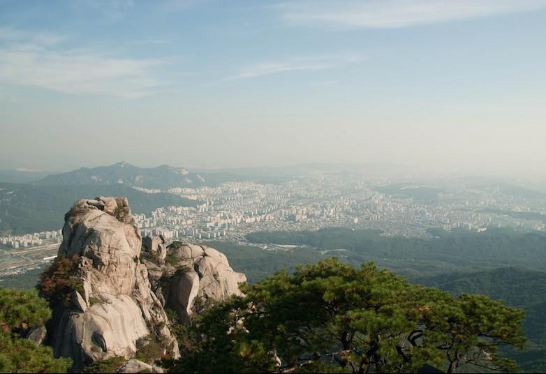 Per gli amanti dell'hiking il Bukhansan National Park è un'attrazione top a Seoul