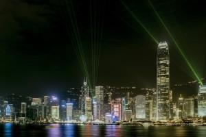 La Symphony of Lights è una delle attrazioni principali di Hong Kong e pure gratuita