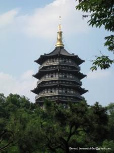 La nuova Pagoda Leifeng di Hangzhou