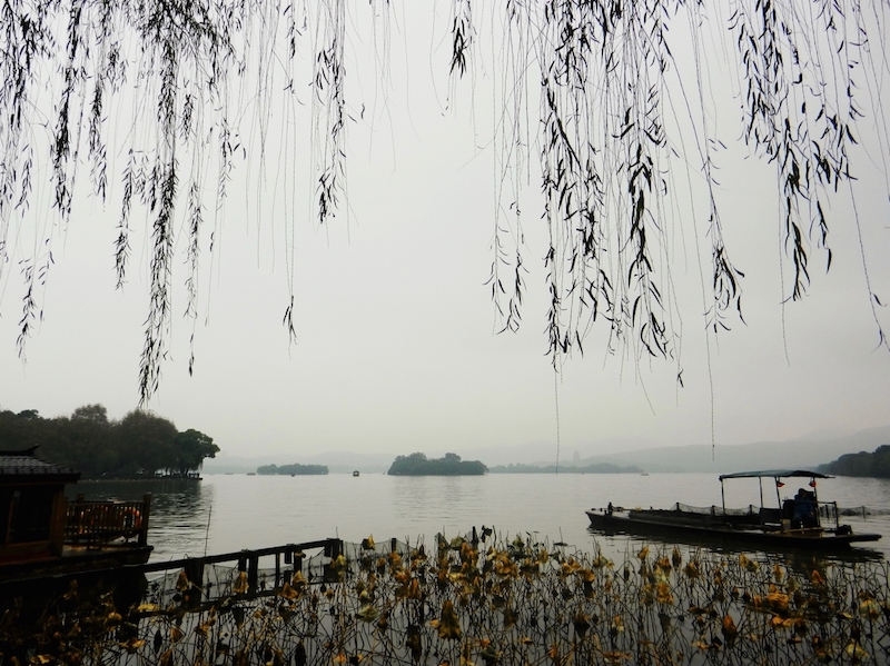 Il lago occidentale di Hangzhou