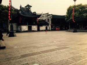 La vecchia città di Hangzhou