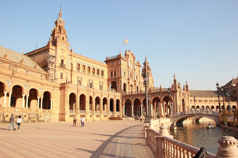 La tappa iniziale della Routa de la Plata è Siviglia