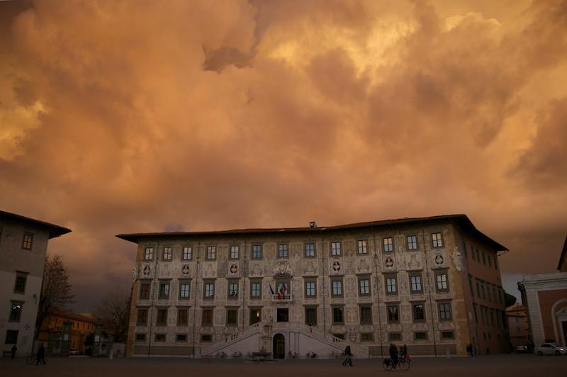 La Scuola Normale di Pisa in Piazza dei Cavalieri è un luogo da visitare in città