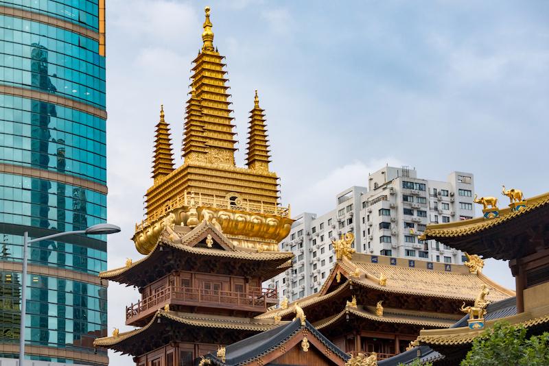 Jin'gan Temple, una delle cose a Shanghai da vedere assolutamente