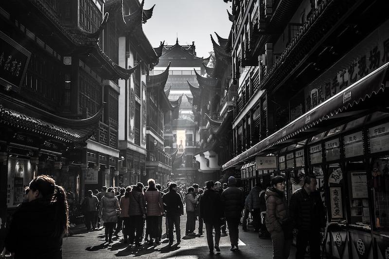 La città vecchia a Shanghai, da vedere!