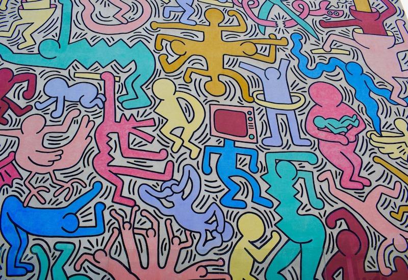 L'opera di Keith Haring a Pisa è assolutamente una cosa da vedere