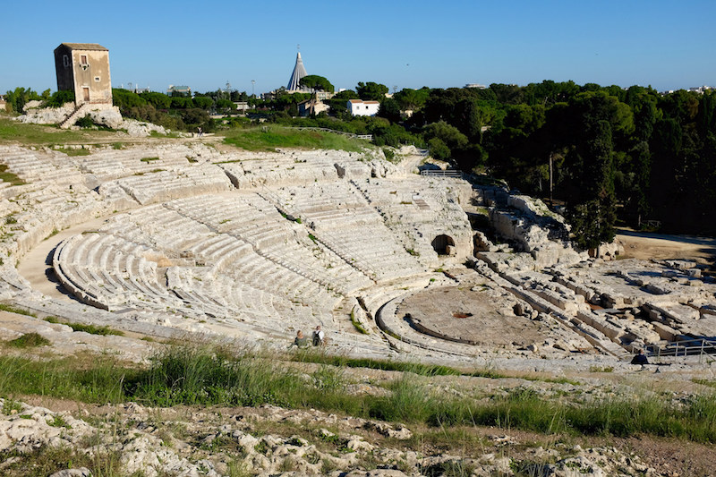 L'anfiteatro greco di Siracusa, una cosa da vedere assolutamente in città