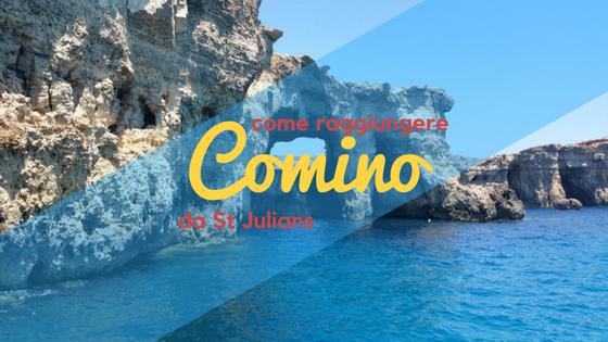 Come arrivare a Comino da St Julians