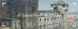 Il maestoso Castello di Vogogna in Piemonte