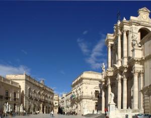 Piazza Duomo è una cosa da visitare a Siracusa se hai solo un giorno