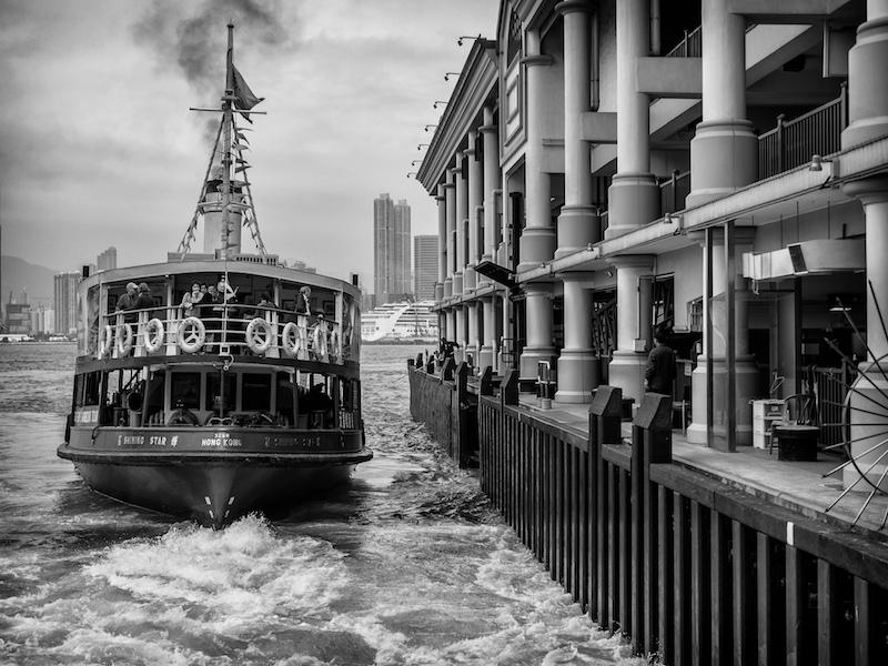Lo star ferry di Hong Kong