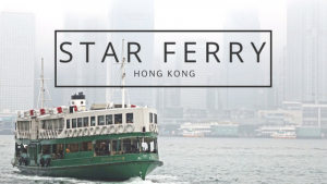La Star Ferry di Hong Kong