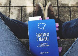 Libro sul Cammino di Santiago: Santiago e Nuvole