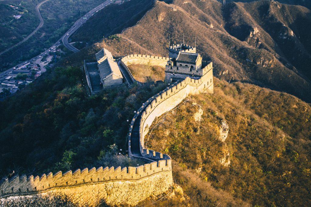 La Grande Muraglia, perfetta da visitare in viaggio