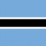Botswana Bandiera