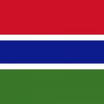 Gambia Bandiera