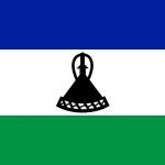 Lesotho Bandiera