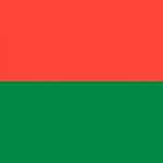 Madagascar Bandiera