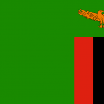 Zambia Bandiera