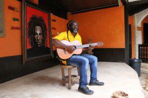 Cantante Fan Di Bob Marley