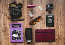 La lista di cose da portare in viaggio