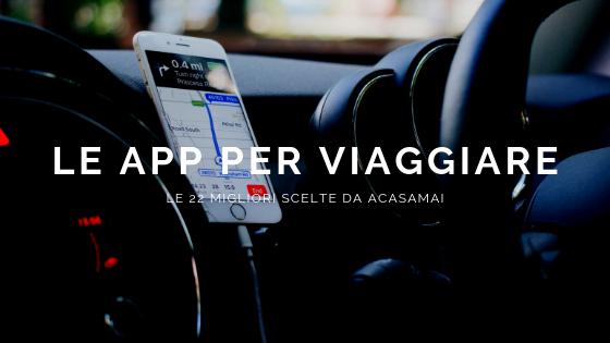 Le migliori app di viaggio